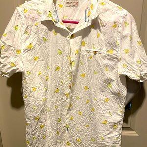 Young men's button down shirt